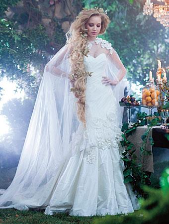 svatebn aty alfreda angela v s prom n v princeznu z