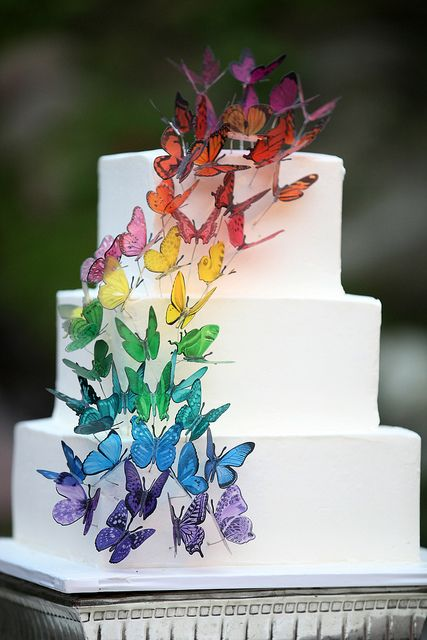 Wedding Cake Ideas For Gay Wedding : Svatebni motiv: Mot?l - The Wedding Post