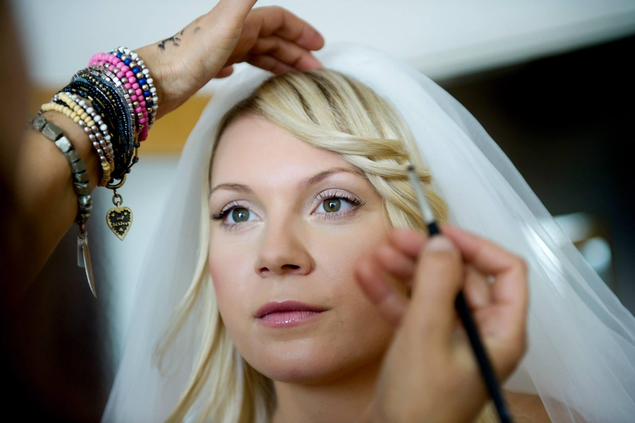 Svatební make-up - rozhovor s Claudií Marčekovou