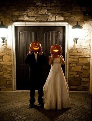 Halloweenská svatba