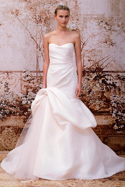 Monique Lhuillier - svatební šaty podzim/zima 2014