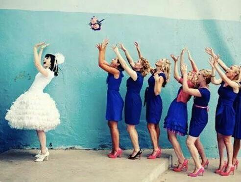 Svatební šatičky pro nevěstu 2v1