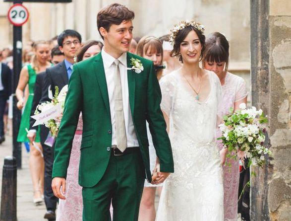 Když se ženich obleče do zelené...