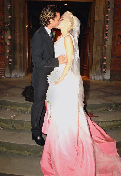 Slavné nevěsty, které se neoblékly do bílé…
