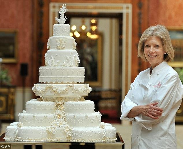 Poslední kousek svatebního dortu vévody a vévodkyně z Cambridge vydražen!