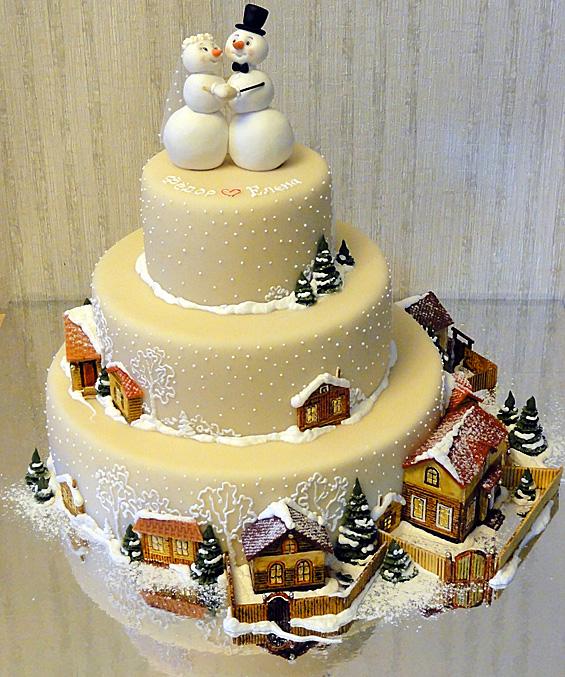 Sněhové dorty...