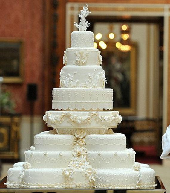 Svatební dorty celebrit