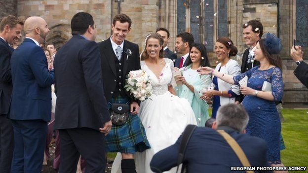Tenisová hvězda Andy Murray se oženil!