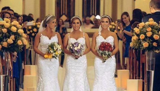 Když se vdávají trojčata...