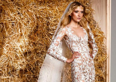 ...Ester Sátorová oblékla téměř stejné svatební šaty jako Adriana Sklenaříková?