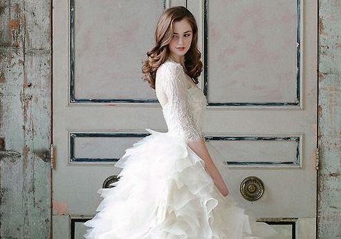 Svatební šaty & trendy pro jaro 2016