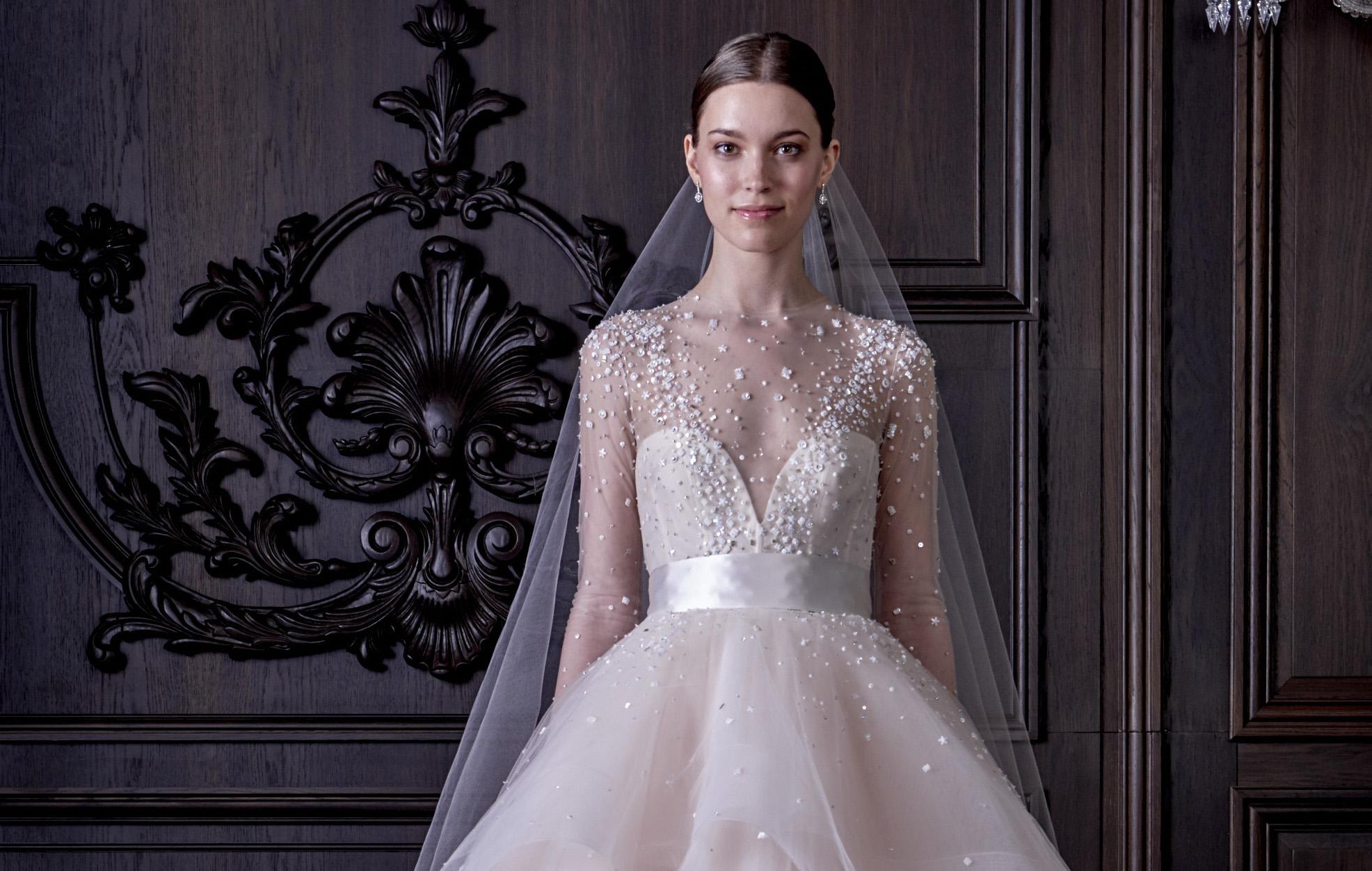 Monique Lhuillier: skvosty mezi svatebními šaty