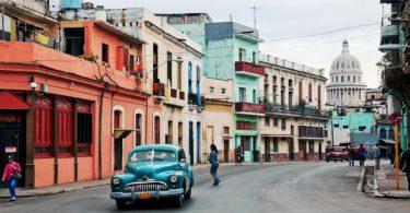 Líbánky na Kubě