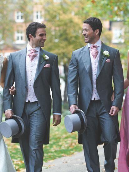 Svatební žaket - pravidla, jak jej nosit