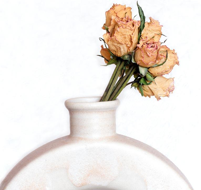 Jak usušit svatební kytici?