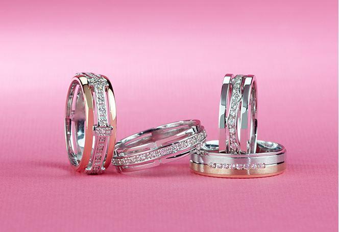 Na správné velikosti snubních prstenů opravdu záleží