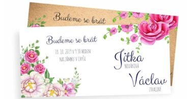 Navrhněte si svatební oznámení snů!